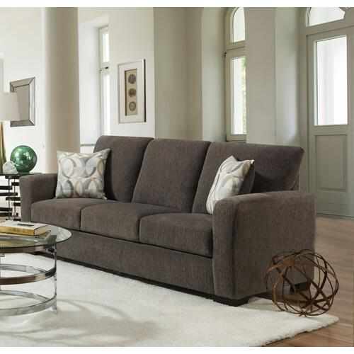American Furniture Manufacturing - 1210 Surge Gunmetal Sofa