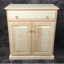 See Details - Maine Made Microwave Stand 32W X 36H X 19D Pine Unfinished