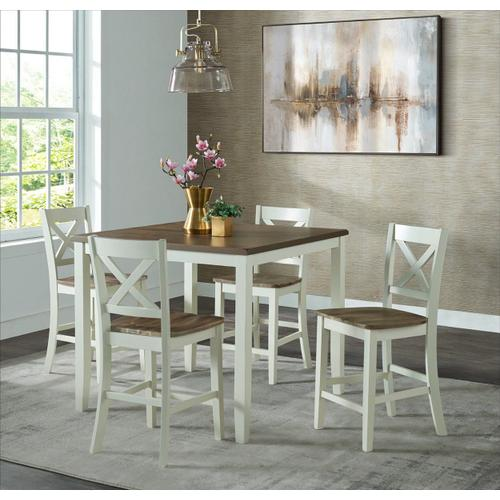 Carmel 5pc High Dining Set