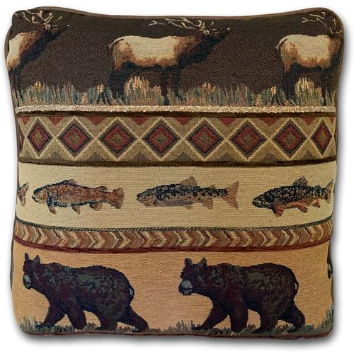 Gatlinburg Frontier / Vagabond Elk Accent Pillow
