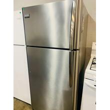 See Details - USED- Frigidaire Gallery 18 Cu. Ft. Top Freezer Refrigerator TMSS30-U  SERIAL #96
