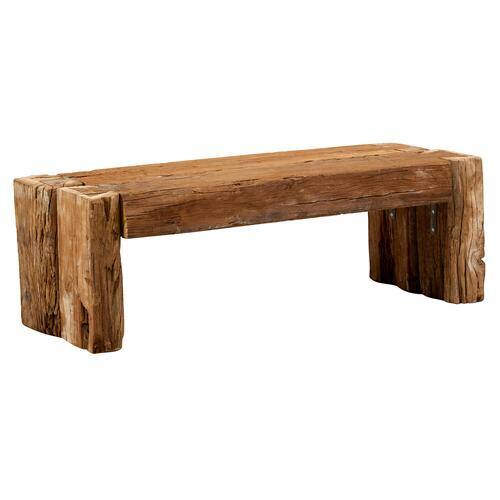 Jaipur - Notched Timber Bench