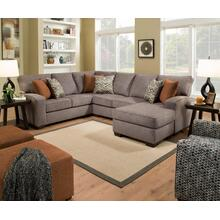 Grey Sectional With Chaise