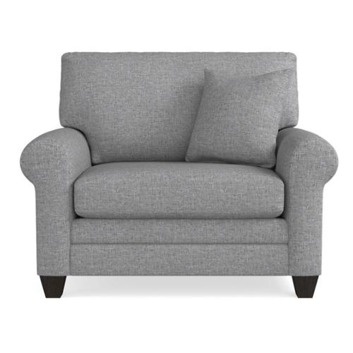Bassett Furniture - Premium Collection - Carolina Sock Arm Chair and a Half