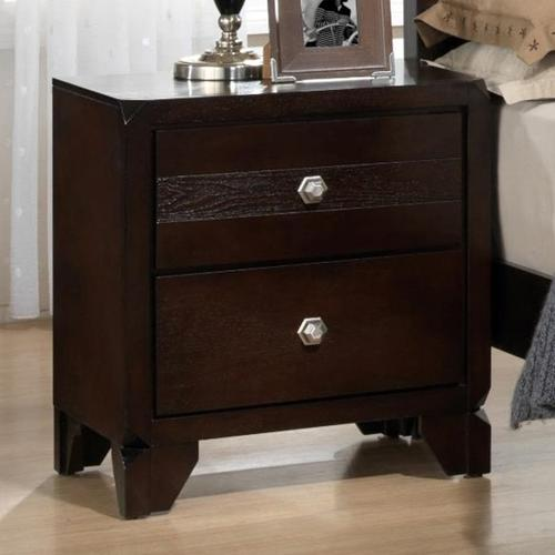 CrownMark Nightstand, Tamblin B6850