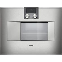 OPEN BOX - Gaggenau BS471611 Combi-Steam Wall Oven with 1.7 cu. ft. Capacity Left Hinge Door, 24-Inch