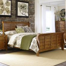 LIBERTY 175-BRQ Grandpa's Cabin Queen Bed