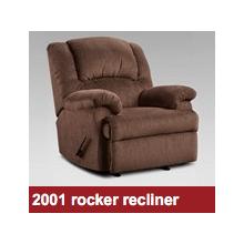 ROCKER RECLINER in ASPEN CHOCOLATE    (2001)