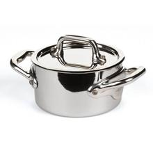 See Details - MauvielM'Cook Mini Cocotte & Lid, 0.4qt With Cast Stainless Steel Handle