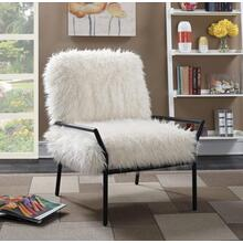 Fur Accent Chair