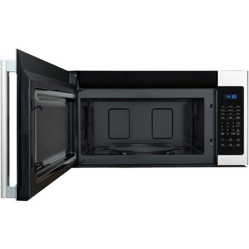Treviño Appliance - Galanz 1.7 Cu Ft Over-The-Range Microwave in Stainless Steel