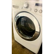 USED- White 3.6 cu.ft. Large Capacity Front Load Washer- FLWAS27W-U  SERIAL #108
