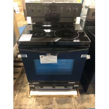 5.9 cu. ft. Freestanding Electric Range with Convection in Black **OPEN BOX ITEM** West Des Moines Location
