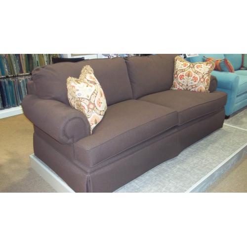 Bassett Furniture - BASSETT CUSTOM SOFA DARK