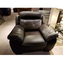 Natuzzi Dark Brown Recliner