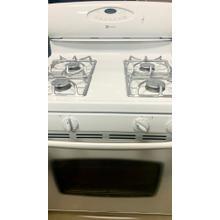 """USED- 30"""" Self-Cleaning Freestanding Gas Range G30WHSTV-U Serial #82"""