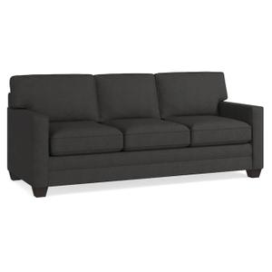 Bassett Furniture - Alex Track Arm Sofa - Charcoal