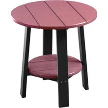 Deluxe End Table Cherrywood and Black