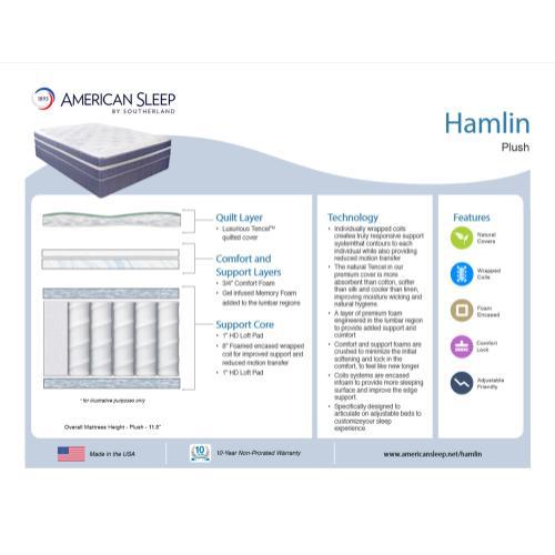 American Sleep - Hamlin - Plush