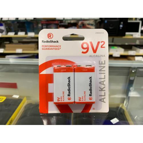 RadioShack - Alkaline Battery 9V 2-Pack