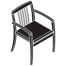 See Details - Jade - Slat Back Guest Chair