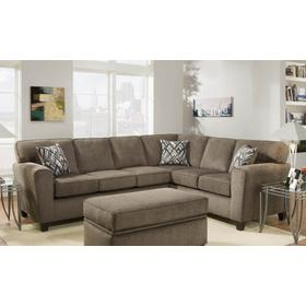 Cornell Pewter Sectional Sofa