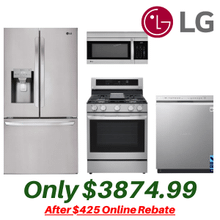 LG Stainless Kitchen Suite