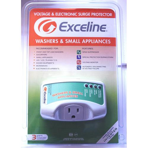 Exceline - Electronic Surge Protector for Washer and Small Appliances