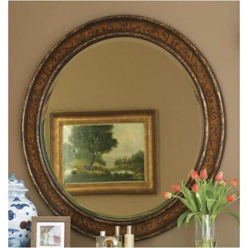 Product Image - Beladora Round Mirror-Floor Sample-**DISCONTINUED**