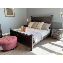 View Product - Centennial Solids - Solid Wood King Bedroom w. 1 Night Stand
