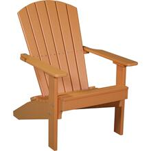 Folding Adirondack Chair Tangerine