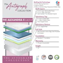Product Image - The Autograph Collection - The Alexandria II - Euro Top