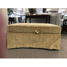 See Details - Skirted Large Ottoman