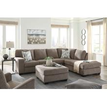 Sectional & Ottoman Package