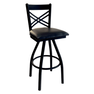 In Stock Specials - Double X-Back Swivel Stool