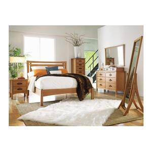 MONTEREY STORAGE BED WITH UPHOLSTERED PANEL