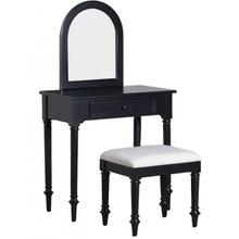 Blackledge Vanity w/ Stool