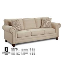Charlotte Queen Sleeper Sofa