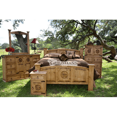 Tejas King 7 Piece Bedroom Set