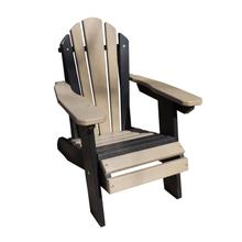 Folding Adirondack Chair Poly Lumber