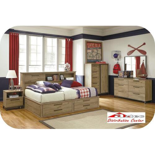Ashley Furniture - Ashley B559 Birstrom Bedroom set Houston Texas USA Aztec Furniture
