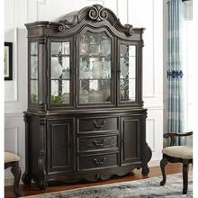 Rhapsody China Base and Lighted Hutch