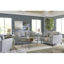 See Details - Ashley 324 Cardello Steel Sofa and Love