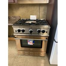 "FLOOR MODEL Blue Star Custom Copper Front 30"" Gas Range"