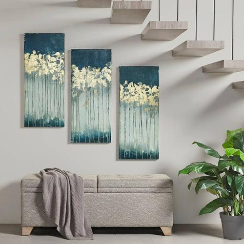 Product Image - Midnight Forest Gel Coat Canvas with Gold Foil Embellishment