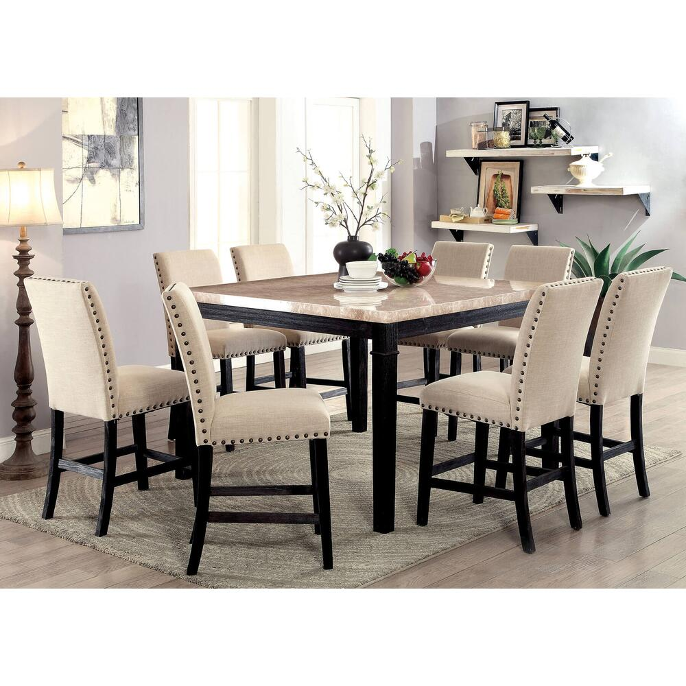 7 Pc Counter Height Dining Set