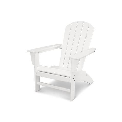 Nautical Adirondack Chair in Vintage White