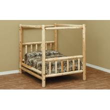 See Details - QUEEN Canopy Bed
