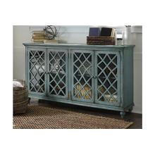 Mirimyn Large Accent Cabinet (Antique Teal)