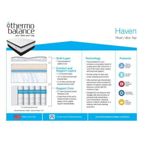 Southerland - Thermo Balance - Haven - Plush - Box Top